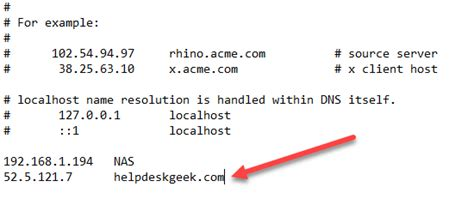 add  local dns lookup  hosts file