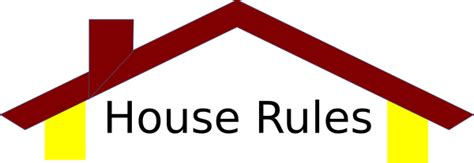 house rules house roof clip art at clker com vector clip art online royalty free public domain
