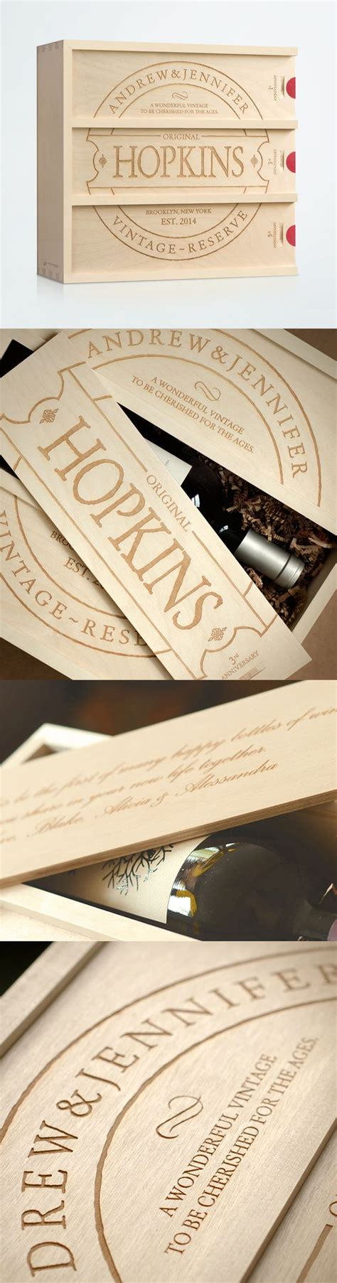 Wedding Wine Box Gift by Personalized Wine Wine Boxes And Wedding Gifts On