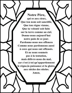 the lords prayer free printable coloring pages search