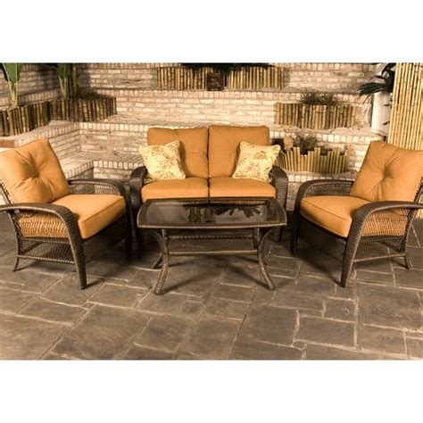 agio wicker patio furniture 5 all weather wicker martinique by agio