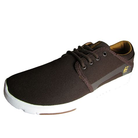 etnies mens scout lace up skate sneaker shoe ebay