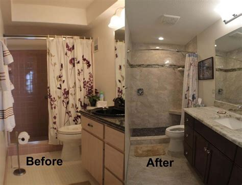 before and after master bathroom remodels completed projects kitchen and bath on the islekitchen