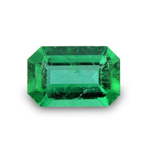 carat green emerald loose gemstone emerald cut
