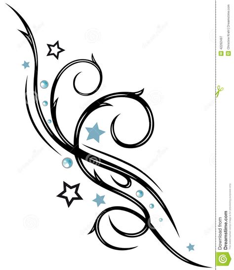 tribal stars stock vector image of lines native
