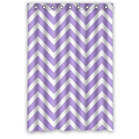 lavender chevron curtains best purple chevron shower curtain