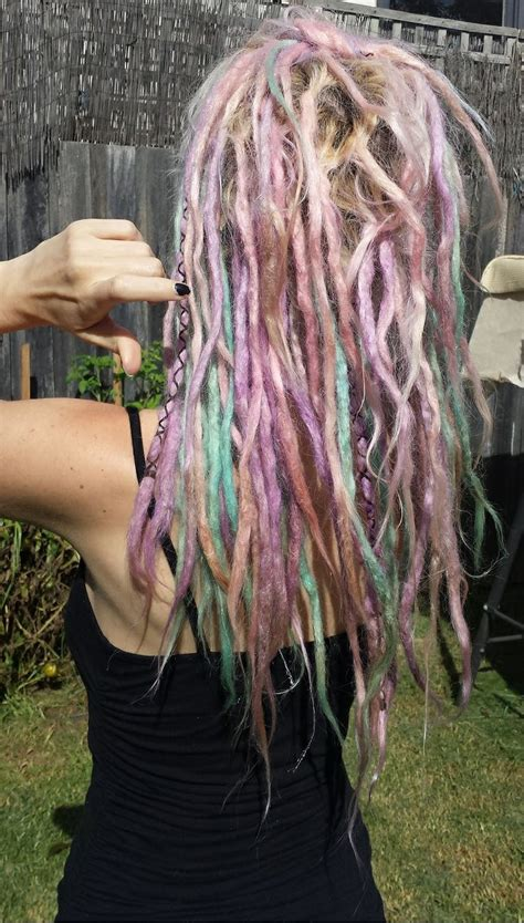 colored dreadlocks best 25 colored dreads ideas on dreads