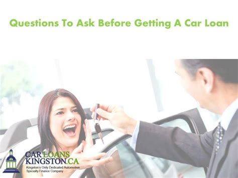 ppt questions to ask before getting a car loan powerpoint presentation id 7437073