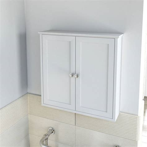 Wall Cabinets For Bathrooms Camberley White Wall Mounted Cabinet 163 60 Also In Green Bathroom Wall Cabinet Pinterest