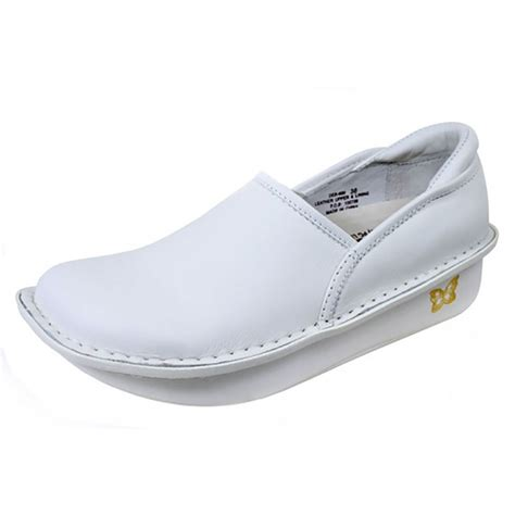 sneakers for nurses give care in comfort with alegria debra white leather