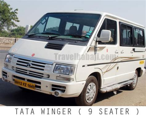 9 seater tata winger hire in delhi tata winger on rental