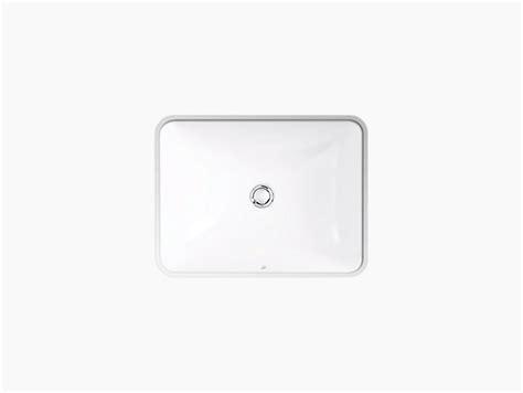 kohler caxton rectangular sink k 20000 caxton 174 rectangular under mount bathroom sink