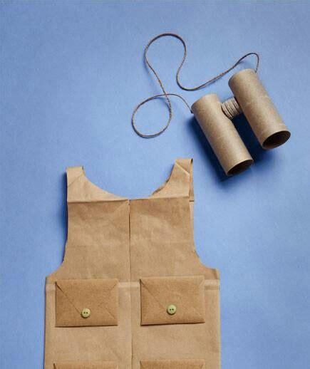 How To Make A Paper Bag Vest - safari vest cool crafts