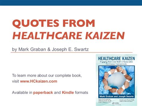 quotes from healthcare kaizen