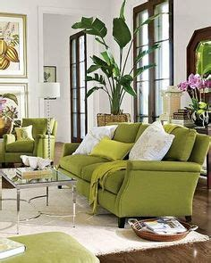 Living Room With Lime Green Sofa Color Green Home Decor Lime Olive Peridot Chartreuse