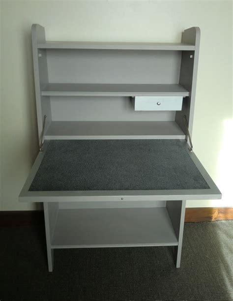 bureau secretaire enfant bureau ecolier gris metal cire tubulaire avec chaise gris