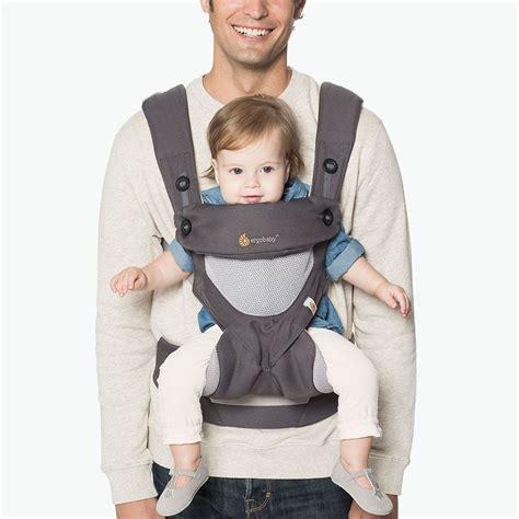mesh baby carrier 360 ergobaby