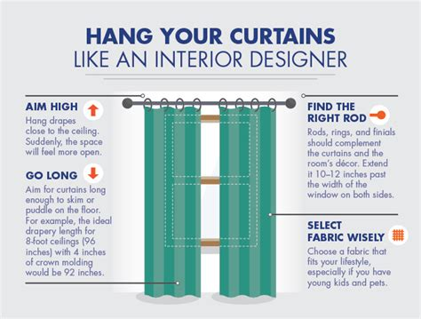 how high to hang curtain rods above window hang your curtains like an interior designer above