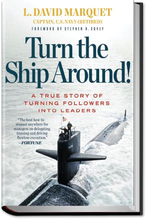 the turn the ship around workbook implement intent based leadership in your organization books david marquet intent based leadship