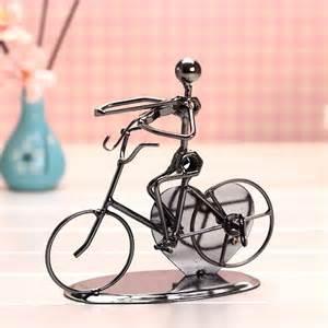 dekoration fahrrad fahrrad band spieldose eisen handwerk mini box