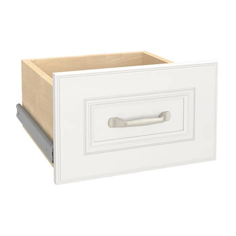 closetmaid narrow drawer kit closetmaid impressions 13 4 in w x 8 7 in h white narrow