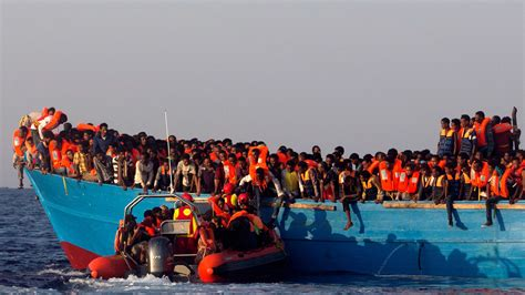 refugee migrant rescue boat libya says it will shoot refugee rescue boats on sight