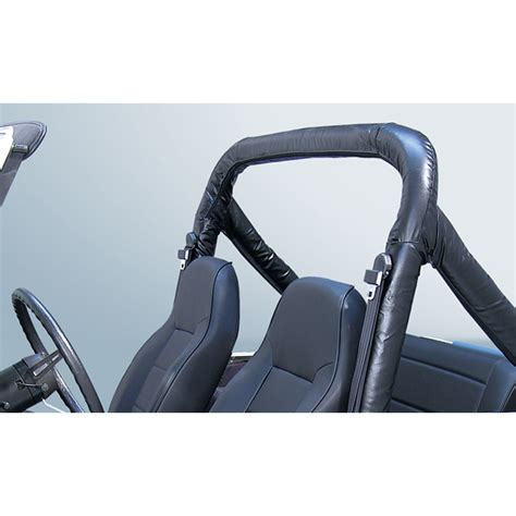 1997 jeep wrangler seat belt light roll bar cover kit 78 91 jeep cj wrangler denim black
