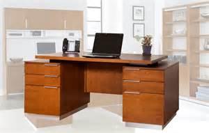 monterey cherry office furniture executive desk