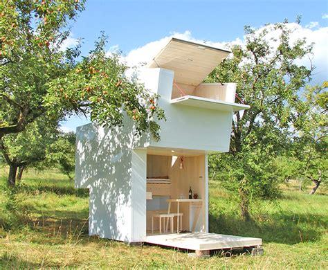 pop up tiny house tiny house inhabitat sustainable design innovation