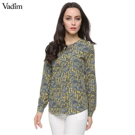 pattern ladies shirt aliexpress com buy women paisley pattern blouses plus