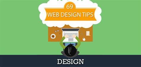 homepage web design tips 69 website design tips infographic ppg web solutions