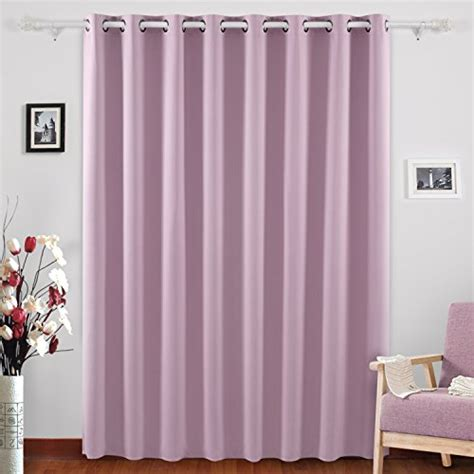 100 X 95 Curtains From Usa Deconovo Blackout Curtains Wide Window Curtains Room Darkening Drapes For Living Room