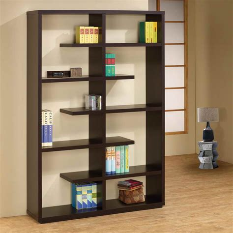 designer bookshelves storage leaning shelves with wood design leaning shelves