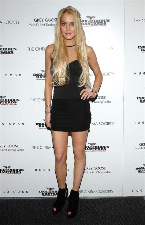 Lindsay Lohan Has Plans For Future Wedding Gown by Lindsay Lohan At Inglourious Basterds Gossip Juice