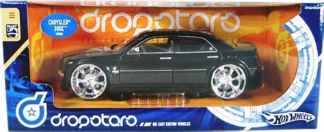 Chrysler 300c Black Colour Tooned Model Hotwheels chrysler 300c black wheels dropstars 1 21 diecast