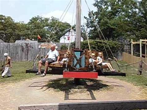 boat ride bristol wooden kiddie ride at bristol renaissance faire youtube