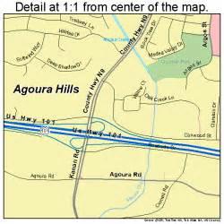 agoura california map agoura california map 0600394