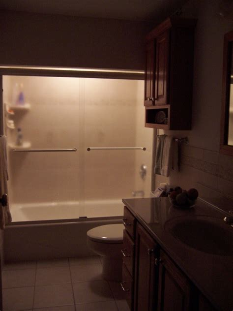 bathroom nightlight walk in shower cincinnati lou vaughn remodeling