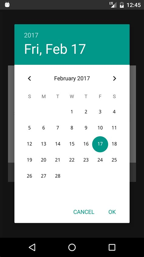 android datepicker customizing datepicker in android not working stack overflow