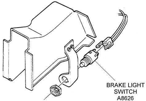 brake pedal diagram brake pedal switch diagram 28 images brake light