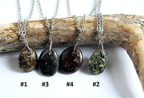 how to make rock jewelry with wire wire wrapped necklace river rock pendant