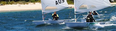hire sailing dinghy sydney watersports flying fish sail academy
