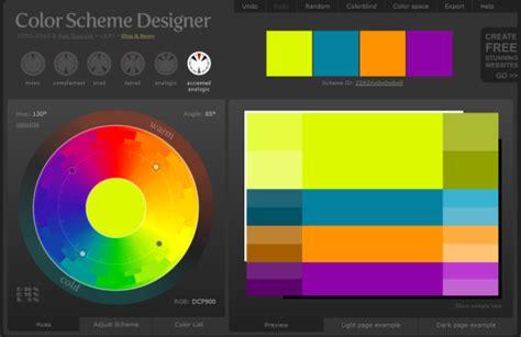 color scheme selector 5 online color selector websites to design color palettes