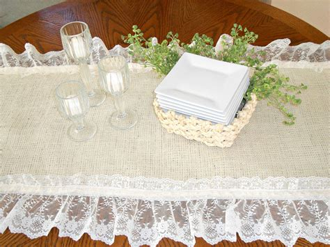 how to make a table runner burlap runner creative diy burlap projects and ideas 100
