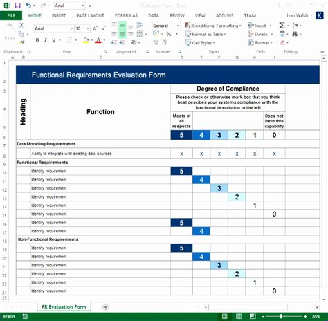 software specification template word software requirements template excel shjuk luxury