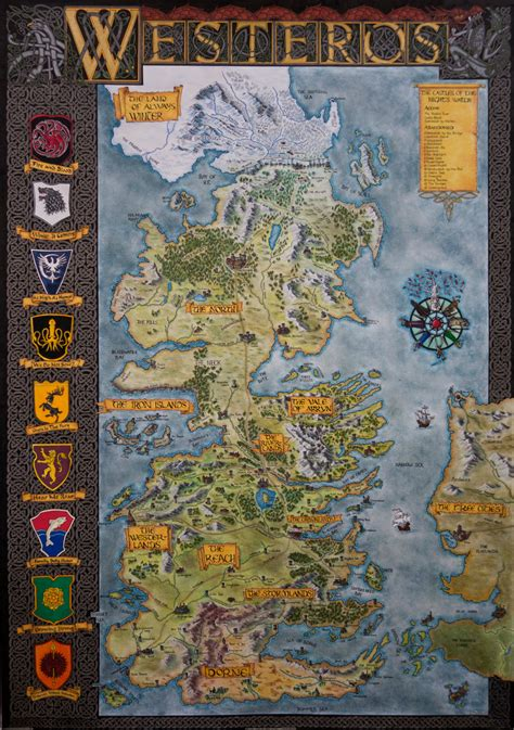 How To Find House Plans For My House by Hand Drawn Westeros Map Complete And Finished Map By