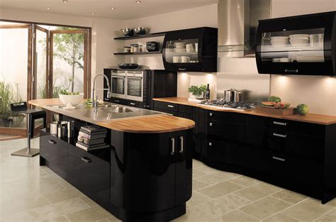 騅iers de cuisine en r駸ine for your inspiration the most beautiful black kitchens