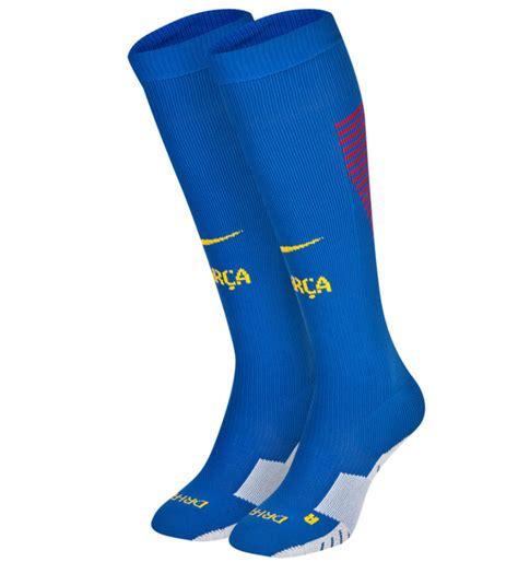 Kaos T Shirt Andres Iniesta Iniesta barcelona 2016 2017 nike home socks blue 776763 480