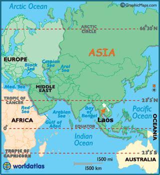 laos on the world map laos map geography of laos map of laos worldatlas
