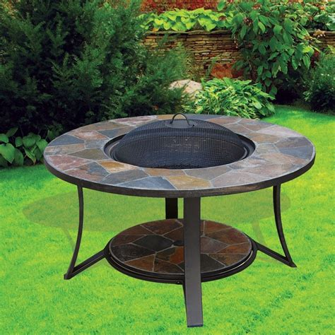 pit table on wood deck wood burning pit table wood burning pit table